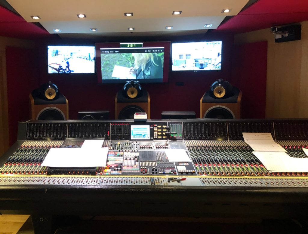 Control Room at Abbey Road
