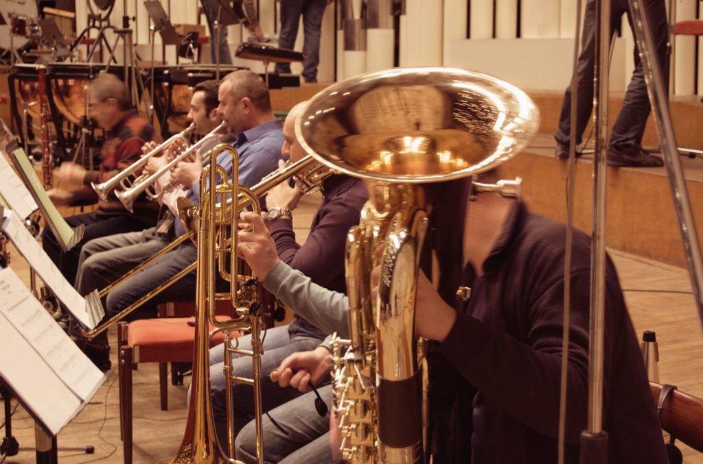 Additional Brass recording for 'Viking'
