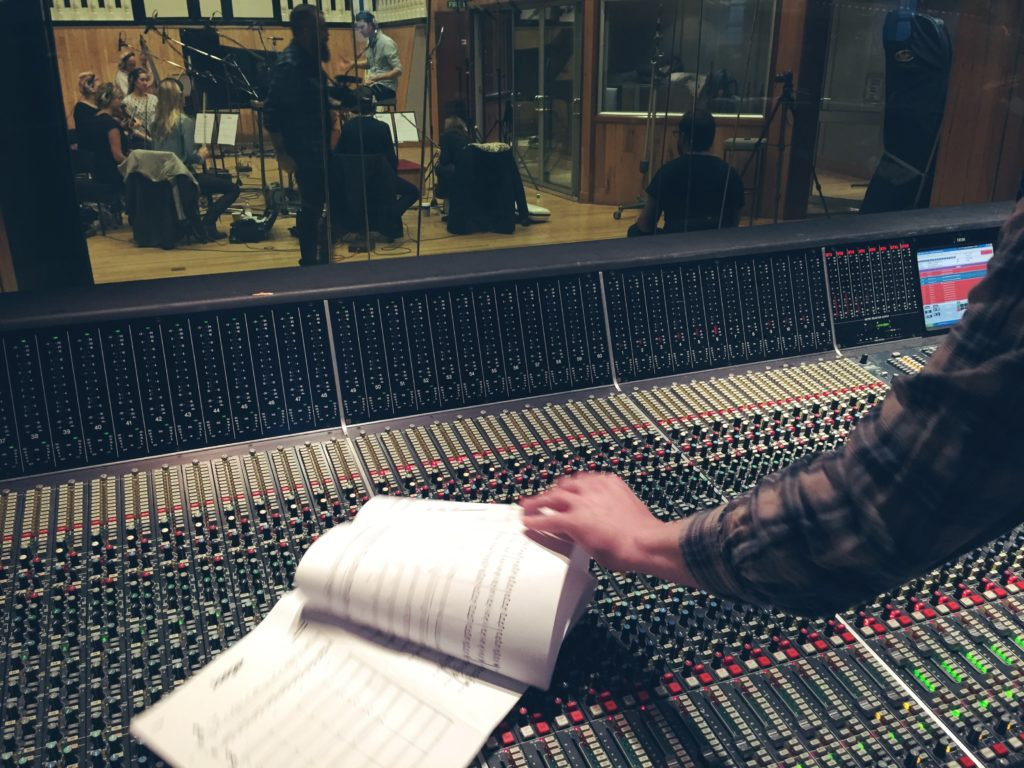 'Koven' recording at Angel Studios