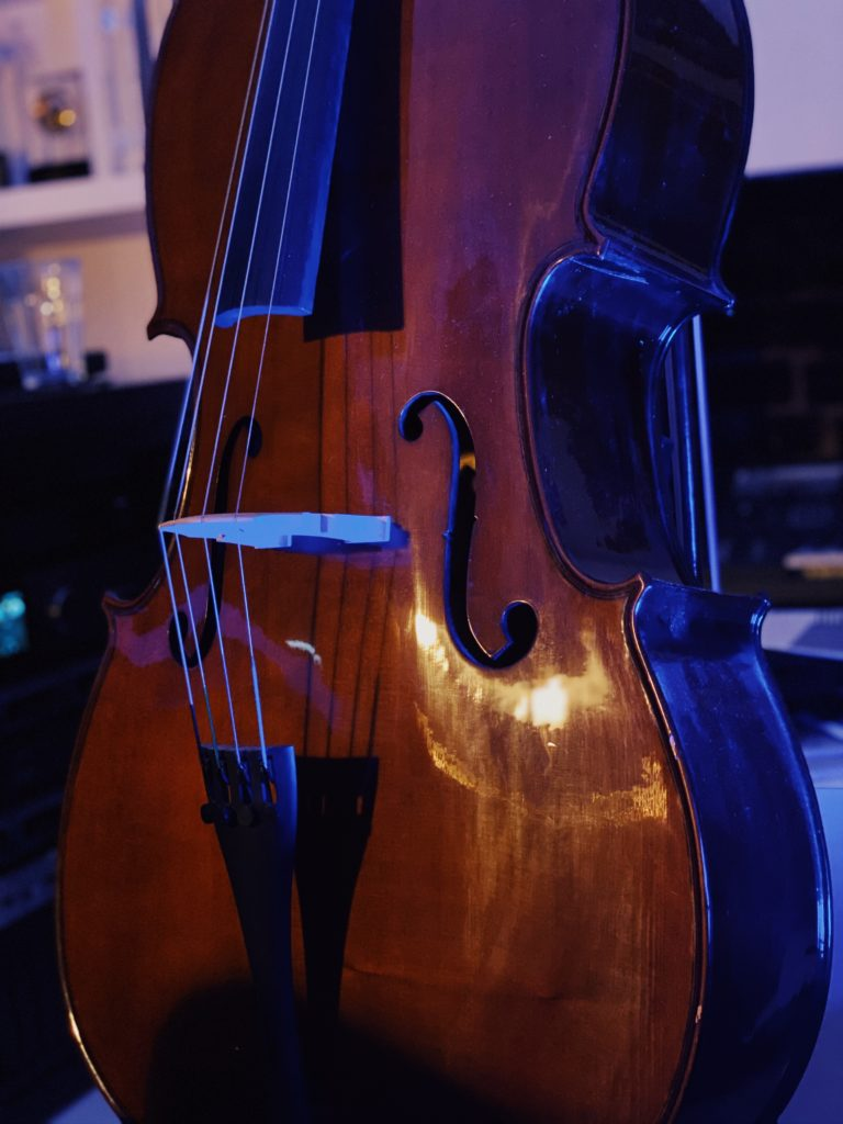 'Infinite'movie: cello run through …