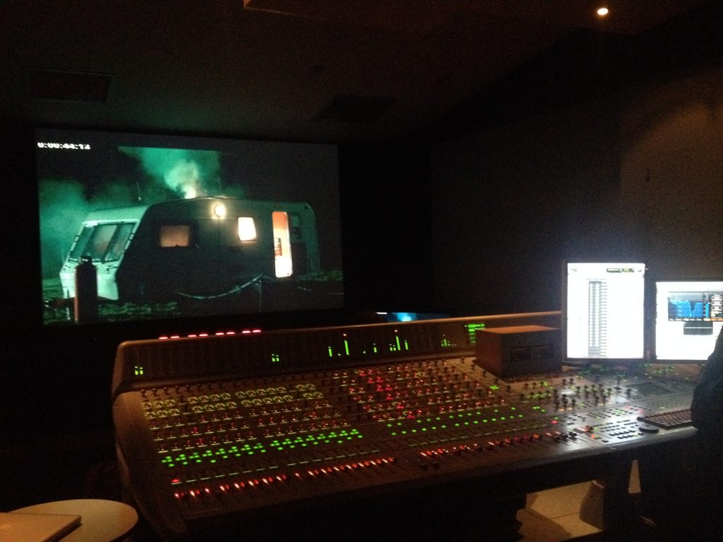 Score mix for TV series 'Glue'
