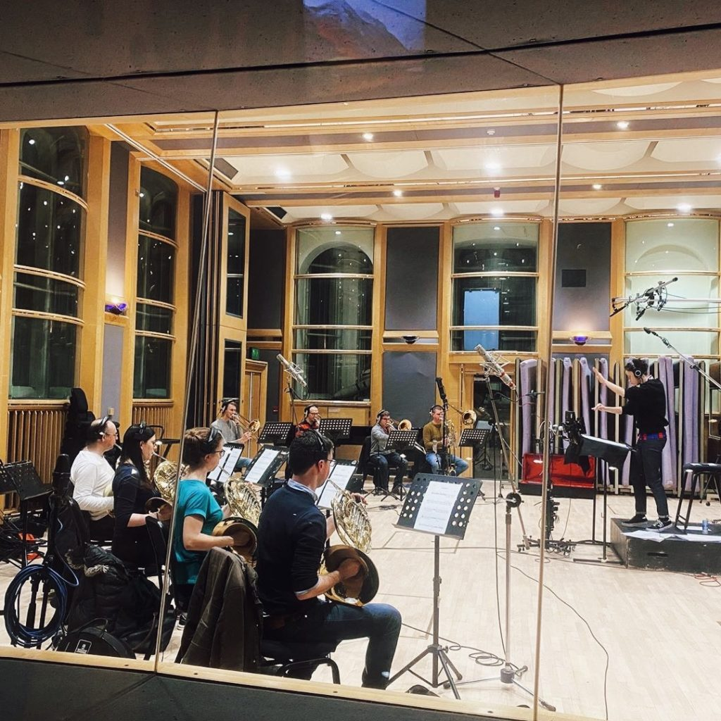 Brass recording for 'Metamorphosis'